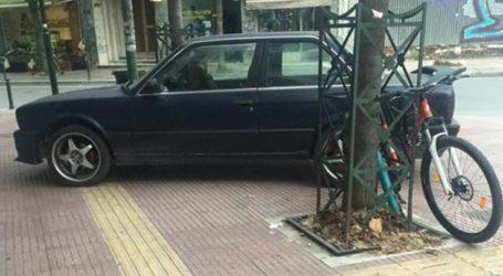 Χωρίς ….φρένο ασυνείδητοι οδηγοί στη Λάρισα – Διπλό το παράπτωμα για τον συγκεκριμένο (φωτο)