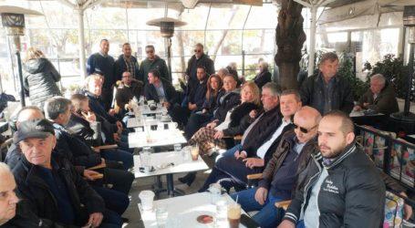 Επίσκεψη Κέλλα στην Ελασσόνα: De minimis και ΠΣΕΑ στους αμυγδαλοπαραγωγούς