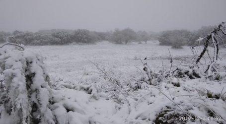 Επέλαση του χιονιά στη Βόρεια Ελλάδα