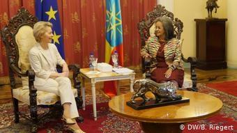 Δύο γυναικίες πρωτιές: η Ούρσουλα φον ντερ Λάιεν στην Κομισιόν και η Σάλε-Γουόρκε Ζέουντα στην Αιθιοπία και πρώτη γυναίκα πρόεδρος στην Αφρική