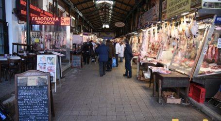 Yποτονική η χριστουγεννιάτικη αγορά