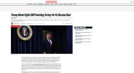 «Τρικλοποδιά» Τραμπ στο νομοσχέδιο για τις κυρώσεις στην Τουρκία