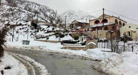 ΤΩΡΑ: Σε ποιες περιοχές της Μαγνησίας χιονίζει