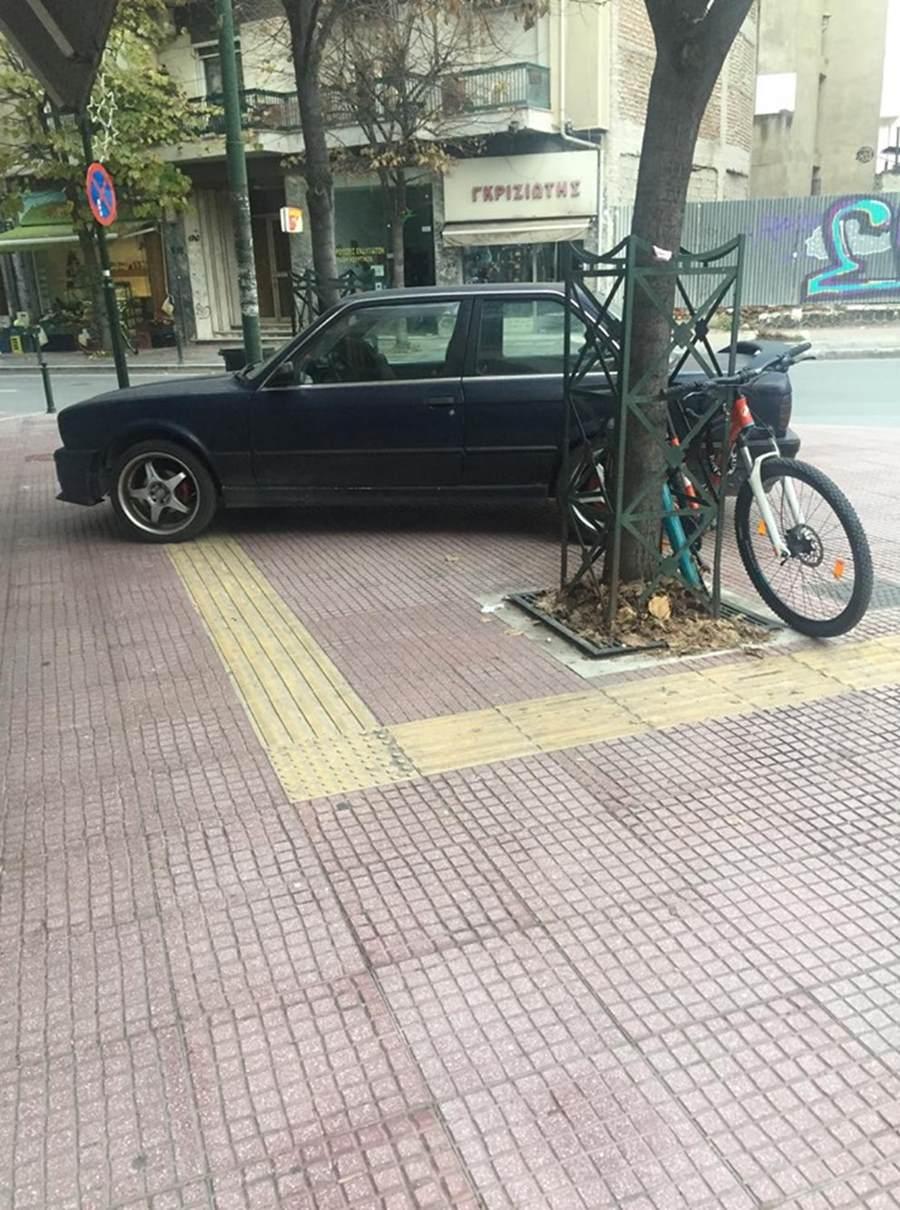 Χωρίς ....φρένο ασυνείδητοι οδηγοί στη Λάρισα – Διπλό το παράπτωμα για τον συγκεκριμένο (φωτο)