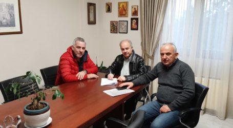 Υπογράφηκε σύμβαση έργου για την κατασκευή αγροτικής οδοποιίας στην Κοινότητα Πουρναρίου