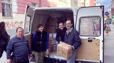 Βόλος: Ανθρωπιστική βοήθεια για τους σεισμοπαθείς της Αλβανίας
