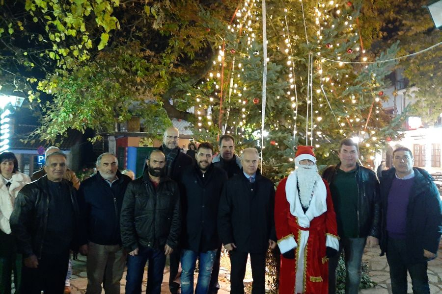 Ξεκίνησαν οι Χριστουγεννιάτικες εκδηλώσεις στο δήμο Τεμπών
