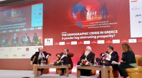 Ομιλία σε Διεθνές Συνέδριο τουEkonomist – Ιγνάτιος:Να δημιουργηθεί θεσμικός φορέας αντιμετώπισης του Δημογραφικού προβλήματος