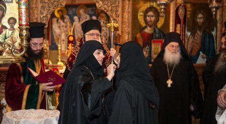 Νέα Μοναχή στην Ιερά Μονή Παμμεγίστων Ταξιαρχών Πηλίου [εικόνες]