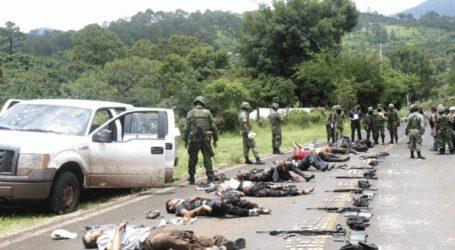 Τουλάχιστον 14 νεκροί σε ανταλλαγή πυρών μεταξύ μελών καρτέλ και αστυνομικών