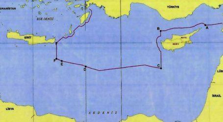 Το τουρκικό ΥΠΕΞ δημοσίευσε τον χάρτη της συμφωνίας με τη Λιβύη