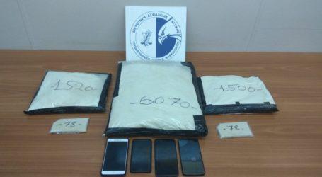Συνελήφθησαν στο αεροδρόμιο Αθηνών δύο ξένοι υπήκοοι που μετέφεραν ηρωίνη