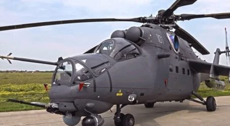 Τέσσερα ρωσικά ελικόπτερα Μi-35Μ παρέλαβε η Σερβία