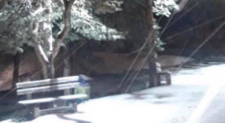 Τα πρώτα χιόνια στην ορεινή Ξάνθη