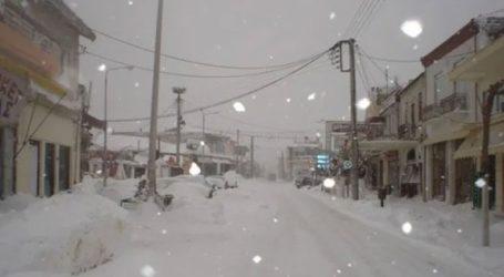 Κλειστά τα σχολεία στο Δήμο Σουφλίου λόγω χιονόπτωσης