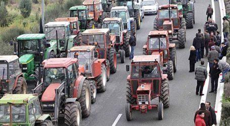 Στους δρόμους οι αγρότες της Καρδίτσας