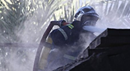 Νεκρό άτομο από φωτιά σε δομή φιλοξενίας προσφύγων στη Λέσβο