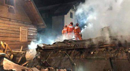 Τέσσερις νεκροί και τέσσερις αγνοούμενοι έπειτα από φωτιά λόγω διαρροής αερίου