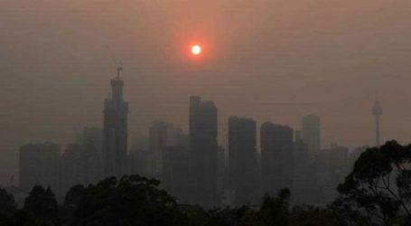 Το Σίδνεϊ έχει καλυφθεί από ένα σύννεφο πυκνού καπνού λόγω πυρκαγιών