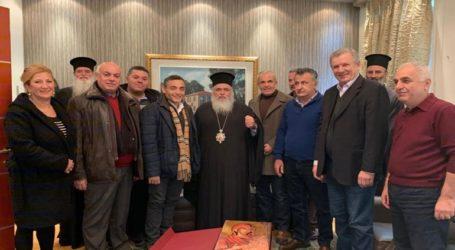 Συνάντηση του δημάρχου Δέλτα με τον Μητροπολίτη Νεαπολέωςγια την αναβάθμιση της Δ. Θεσσαλονίκης