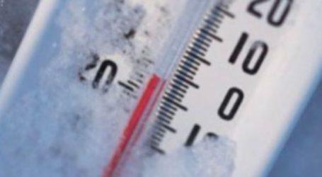 Σε ποιες περιοχές η θερμοκρασία έφτασε τους -6 βαθμούς