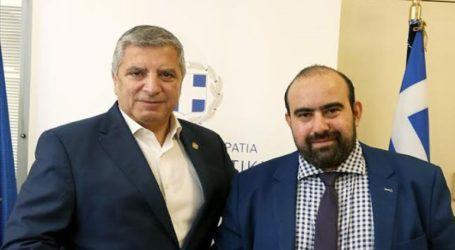 Συνάντηση Πατούλη με τον δήμαρχο Κυθήρων για αναπτυξιακά έργα