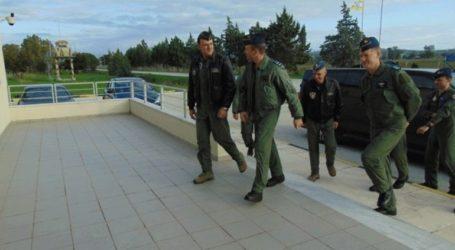 Επίσκεψη των αρχηγών ΓΕΑ Ελλάδας και Βελγίου στην αεροπορική βάση Αράξου