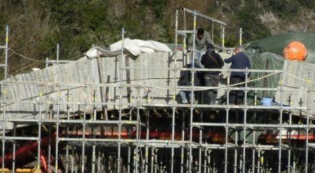 Ιωάννινα: Όρθιο και πάλι το γεφύρι της Πλάκας