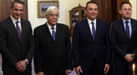 Υφυπουργός Εξωτερικών ορκίστηκε ο Κώστας Βλάσης