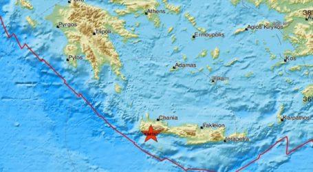 Σεισμός 3,1 Ρίχτερ στην Κρήτη