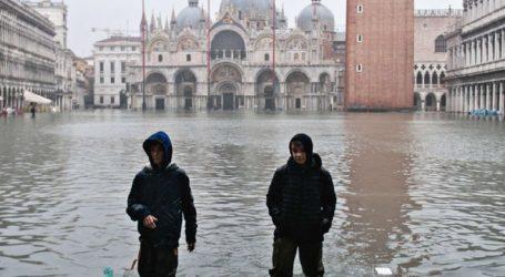 Σε πτώση οι κρατήσεις στα ξενοδοχεία της Βενετίας λόγω των πλημμυρών
