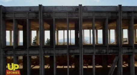 Το Κέντρο Έρευνας και Τεχνολογίας Στρατού που διέλυσε ο μεγάλος σεισμός της Πάρνηθας UP'ο ψηλά
