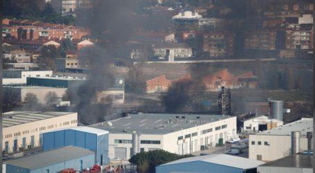 Πυρκαγιά σε χημικό εργοστάσιο στην Καταλονία