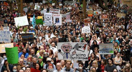 Ογκώδης διαδήλωση στο Σίδνεϊ κατά της κλιματικής αλλαγής