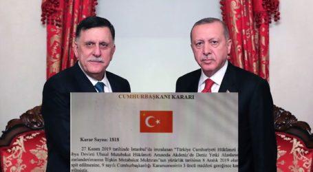 Στην εφημερίδα της κυβέρνησης της τουρκικής δημοκρατίας η συμφωνία με τη Λιβύη