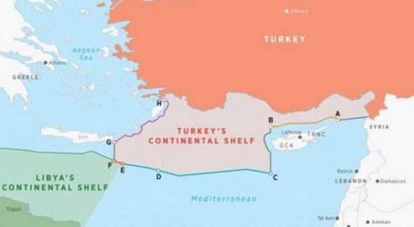 Η Τουρκία κατέθεσε στον ΟΗΕ τις συντεταγμένες της συμφωνίας με τη Λιβύη