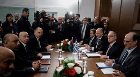 Σε εξέλιξη η συνάντηση Τασούλα με τον Λίβυο ομόλογό του