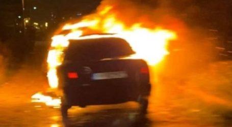Αυτοκίνητο πήρε φωτιά εν κινήσει