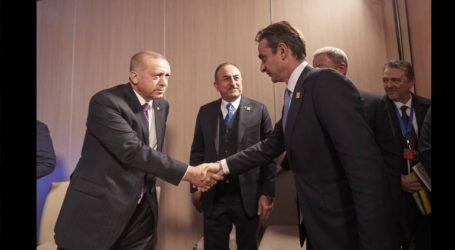 «Όχι» σε συνάντηση με τον Ερντογάν τη δεδομένη στιγμή λέει ο Μητσοτάκης