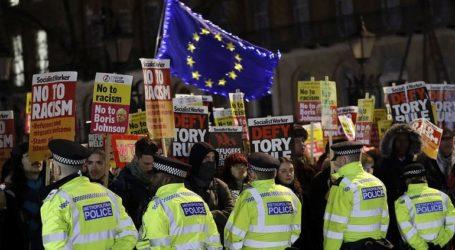 Διαδηλώσεις κατά του Τζόνσον στο Λονδίνο