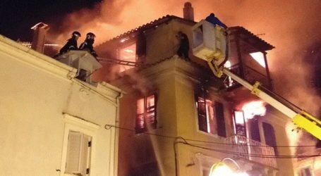 Κάηκε ολοσχερώς τριώροφη μονοκατοικία στο Μαντούκι