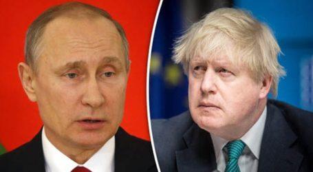 Ο Πούτιν επιθυμεί «εποικοδομητικό διάλογο» με τον Μπόρις Τζόνσον