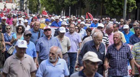 Ολοκληρώθηκε η πορεία των συνταξιούχων -Πραγματοποιείται συνάντηση με κυβερνητικά στελέχη