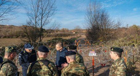 Ο ΥΦΕΘΑ Αλκιβιάδης Στεφανής επιθεώρησε τα έργα και τις κοινές δράσεις Στρατού-Αστυνομίας στον Έβρο