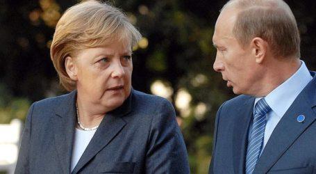 Τηλεφωνική επικοινωνία Πούτιν – Μέρκελ για τη Λιβύη και το ρωσικό φυσικό αέριο