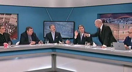 Άγριος καβγάς Μπογδάνου με δημοσιογράφο on air