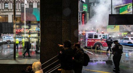 Γυναίκα στη Νέα Υόρκη καταπλακώθηκε από ερείπια κτηρίου καθώς περπατούσε στον δρόμο