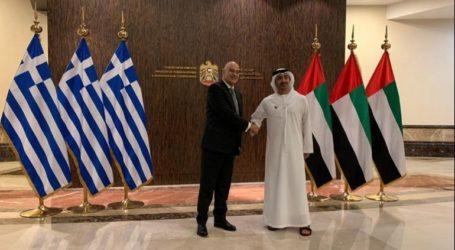 Διμερείς σχέσεις και επενδύσεις στη συνάντηση Δένδια με τον σεΐχη των Ηνωμένων Αραβικών Εμιράτων