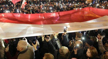 Διαδηλώσεις κατά της μεταρρύθμισης του δικαστικού συστήματος στην Πολωνία