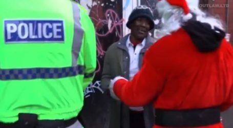 Η σύλληψη του… Αη Βασίλη στη Βρετανία